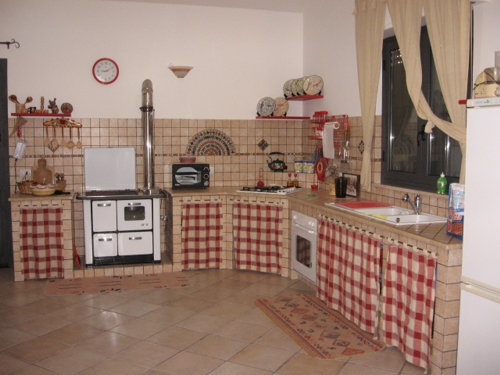 Impresa edile la porta costruzioni stile nell - Tende rustiche per cucina ...